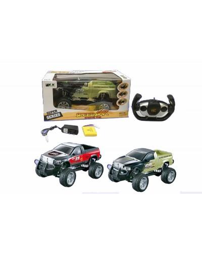 Машина аккум. р/у 3699-071  пульт на батар.,   в коробке
