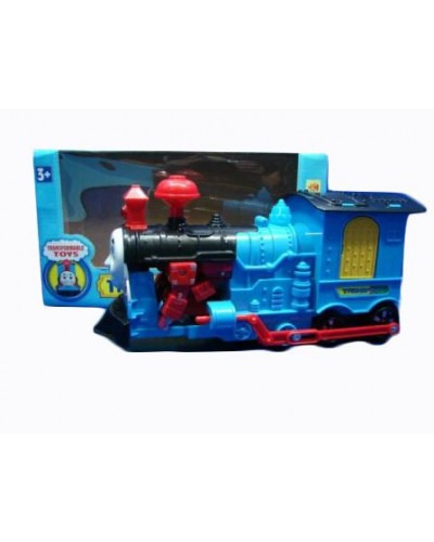 "Муз.паровоз 88158""Thomas""батар.,  звук,  трансформер,в кор. 23*8см"