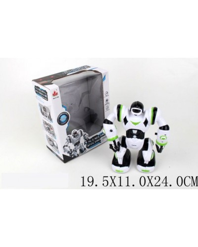 Робот батар. 27106 (1664442)  свет,  звук,  в кор.  19,5*11*24см