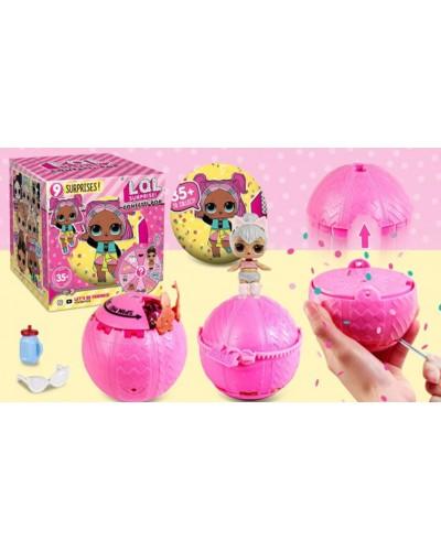 """Кукла """"L""""CP"""" ZT9994 9 видов, хлопушка, пьет/плюет, меняет цвет в хол воде, в кор.10*10*10с"""