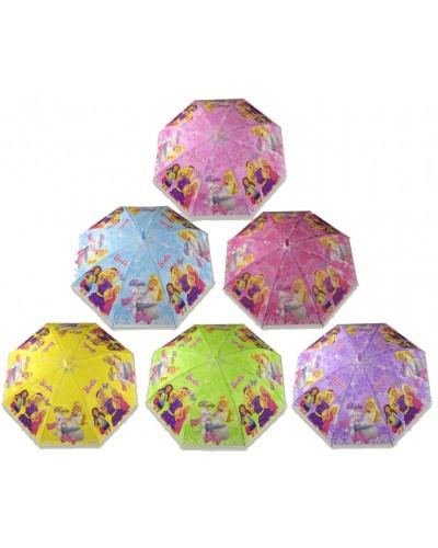 """Зонт """"B"""" CEL-250 , 6 видов, в пакете 48,5 см"""