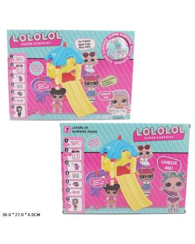 Игровой набор LOL 89002 герой LOL, аксессуары в кор. 35*27*8см