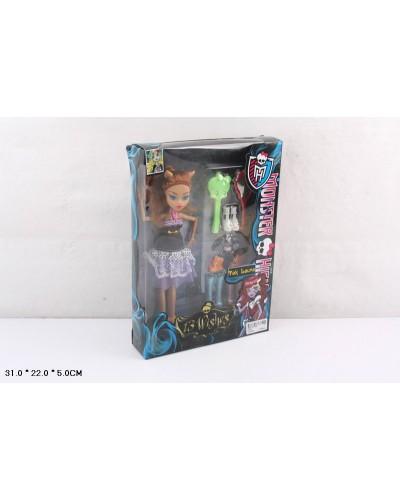 "Кукла ""MH"" G22B  шарнир, аксесс, в кор.31*5*22см"