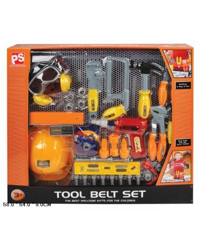 Набор инструментов 2098   дрель, отвертка, молоток  и т.д. в кор 58*54*9 см