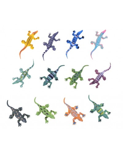 Животные PX01-3  рептилии, в пакете 20*17*3,5см