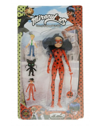 Кукла  H620 свет/муз, персонажи из мультф, в кор. 45*26*6 см