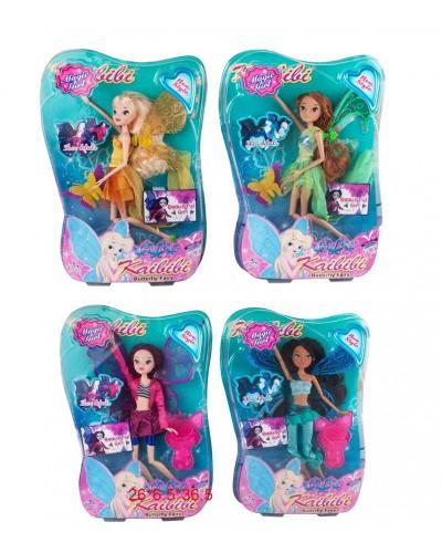 """Кукла """"W"""" BLD149/-1  4 вида, шарнирные, аксесс,  в кор. 36,5*6,5*26 см"""