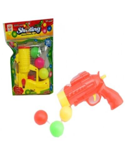 Бластер 129-43/129-44 с шариками, в пакете 17,5*25*4см