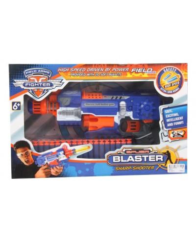 Бластер батар. SB330 поролон. пули, в коробке 41*26*9см