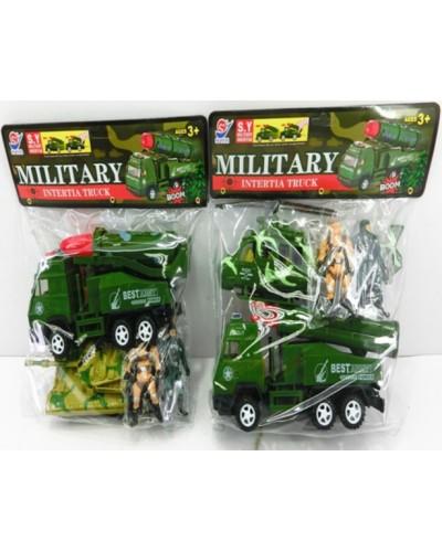 Военный набор 8627 2 вида, в пакете 24*7*28см