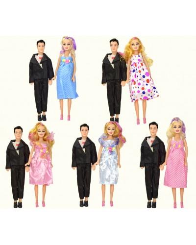 """Кукла типа """"Барби""""Беременная"""" 807A 5 видов, с Кеном, в пакете 16*37см"""