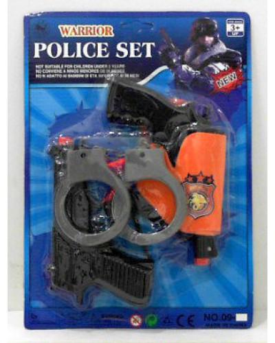 Полицейский набор 09-2 на планшетке 18*32 см