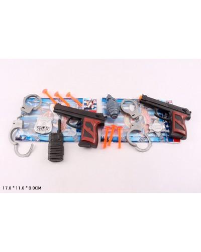 Полицейский набор 30-31 в пакете 17*11*3 см