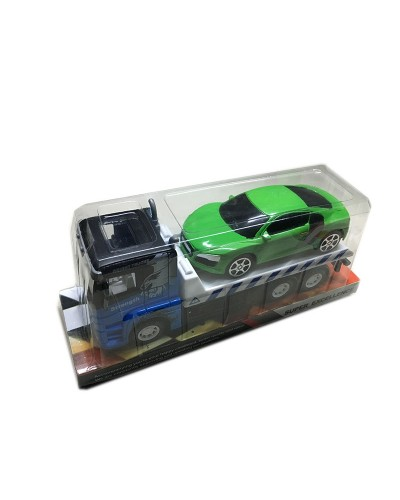 Трейлер инерц. 888-1/2/666-2 в комплекте машина, под слюдой
