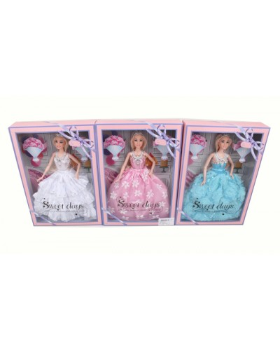 Кукла  503A 3 вида, с аксессуарами в кор.23*5,5*32,5 см