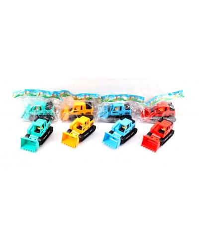 Экскаватор инерц. 8806 в пакете 12*7*5,5см