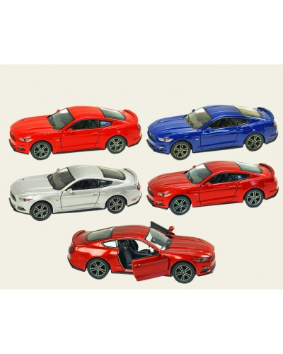 """Машина металл """"KINSMART"""" KT5386WP 2015 Ford Mustang GT w / printing, в коробке 16*8*7,5см"""
