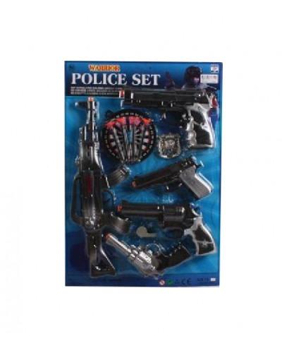 Полицейский набор 12-2 на планшетке 36*52 см