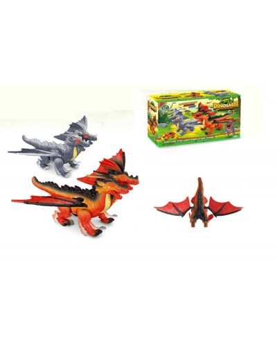 Животные 788-3 2 вида, батар, дракон, звук, в коробке 22,3*7,7*14,8см