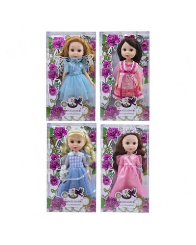Кукла 1402E 4 вида, в коробке19*7*34,2см