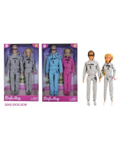 """Кукла """"Defa Lucy"""" 8360 в спортивном костюме с Кеном, в кор.20*5*32см"""