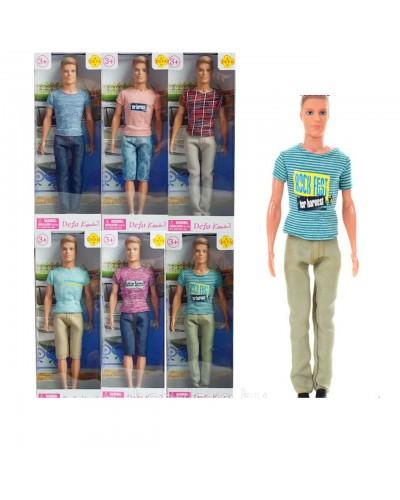"Кукла ""Кен""Defa Lucy"" 8372 6 видов, в кор."
