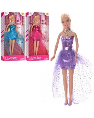 """Кукла """"Defa Lucy"""" 8354  3 вида, в вечернем платье, в кор."""