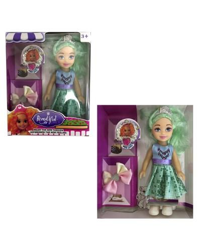 Кукла маленькая 0668 (288шт/2) 3 вида, в кор.