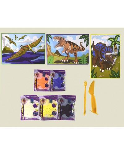 Набор для творчества 882-95/6/7  шариковый пластилин, объемная картинка, в кор.30*8*24см