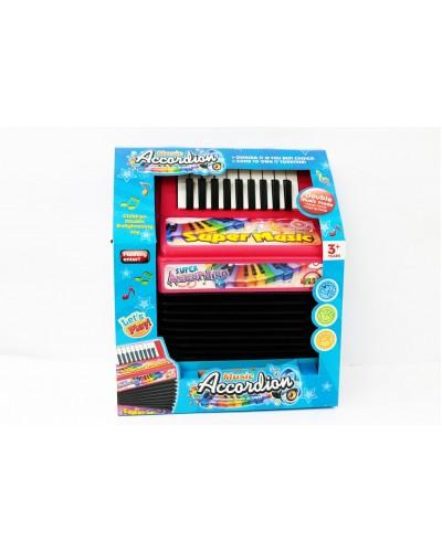 Аккордеон 20234 батар., в коробке 26*13*29см