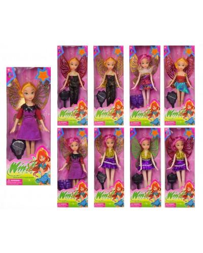 "Кукла ""W"" 3655 3 вида, расческа, в кор."