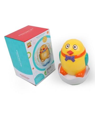 Неваляшка 838A-4 цыпленок в яйце, в коробке 11,5*11,5*17,5 см