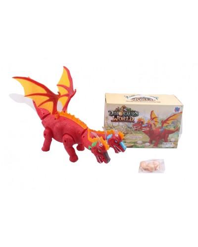 Животные GP2123 динозавр, свет, звук, ходит, в коробке 26*17*12см