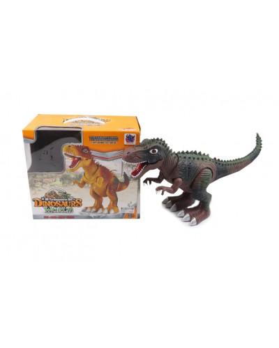 Животные GP2127 динозавр, свет, звук, ходит, в коробке 29*29*16см