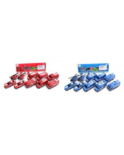 Набор транспорта RS55-44-45 2 вида, в пакете 24*16*3,5см