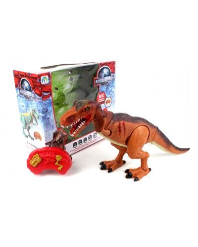Животные на р/у 9789-99 динозавр, батар, свет, звук, в кор. 31,5*14*28,5см