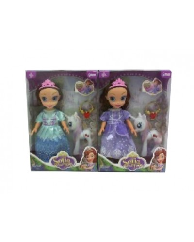 """Кукла """"S"""" YG1801-3 2 вида, муз, с пони, аксесс, в кор.29*6,5*21 cm"""