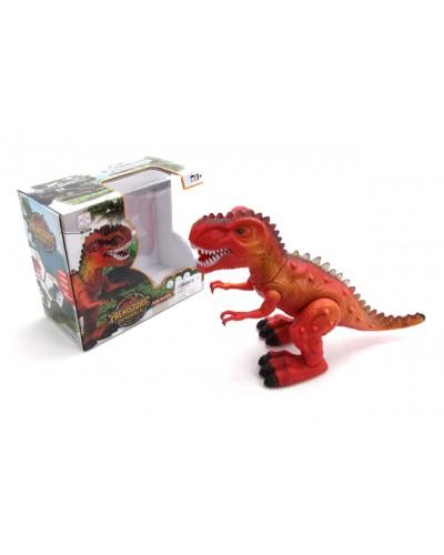 Муз.динозавр 3325 батар., звук, свет, в кор. 20*10,5*18см