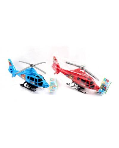 Вертолет инерц. 3188C 2 цвета, в пакете 26*18*18см