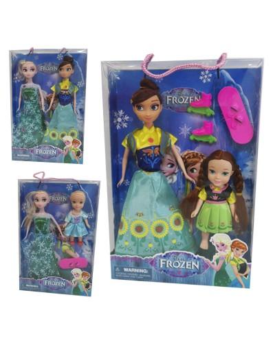 "Кукла ""F""6161-121/2/3 3 вида, сестричка, в кор."
