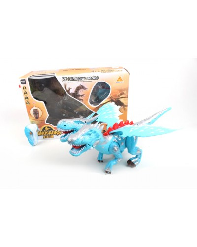 Животные на р/у 60107  динозавр, батар, свет, звук, в кор.48*17*32см