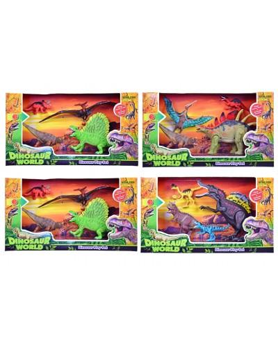 """Животные F124-48/46/42/39 """"Динозавры"""", набор, в кор.42,5*11*24,5см"""