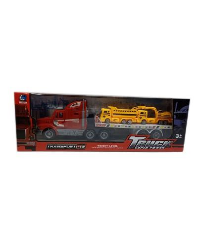 Трейлер инерц. 338D-16 в комплекте стройтехника, в кор.15*47*9см