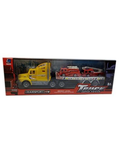 Трейлер инерц. 338D-17 в комплекте пожарная техника, в кор.15*47*10см
