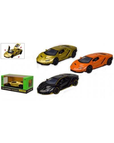 "Машина металл 7861 ""АВТОПРОМ"", Lamborghini  LP770-4, батар., свет, звук, откр. двери, капот."