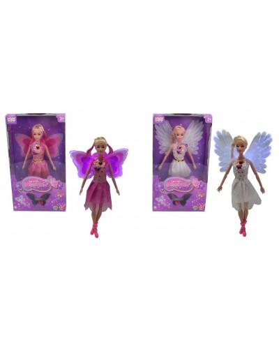 """Кукла """"Ангел"""" MJN666 батар, свет, шарнир, с крылышками, в кор. 34*6*19 см"""