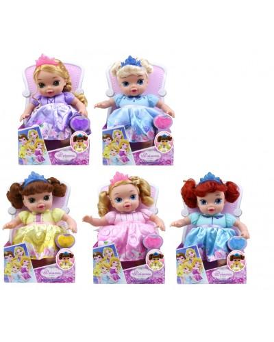 """Кукла """"ПД""""A371A 5 видов на кресле, кукла 31 см, в кор. 19*10,8*32 см"""