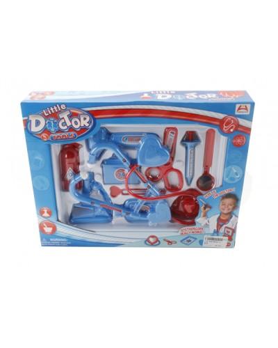 Доктор 8606-3 стетоскоп, шприц, кислород балон, микроскоп, в кор.33*25,5*5,5см