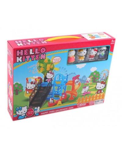 Игровой набор 582-1 4 героя, детская площадка, музыка, в кор. 37*27*7см
