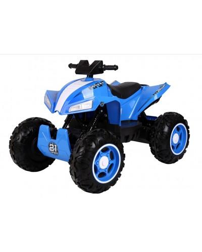 Квадроцикл TY2888-B СИН аккум., 12V10AH, MP3, USB, колеса EVA, в кор. 97*70*52см